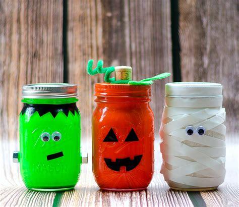 craft ideas jars halloween mason jars mason jar crafts love