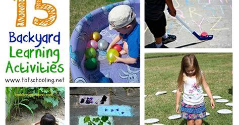 15 Backyard Learning Activities