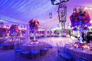 Pink & Purple Garden-Inspired Tented Wedding in New York
