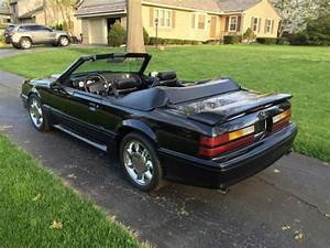 "1990 Ford Mustang GT Convertible ""Triple Black"""