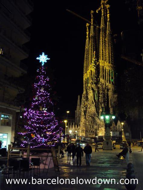 christmas lights  barcelona lowdown