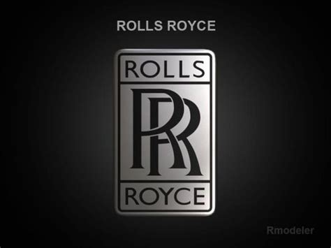 Rolls Royce 3d Logo Signs Logos Awards 3d Models And 3d