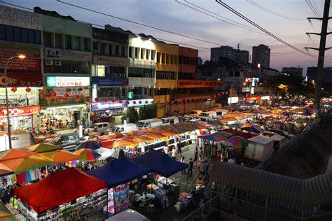 taman connaught night market shopping  cheras kuala