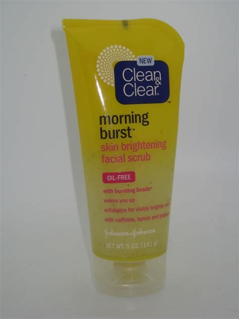 Harga Clean And Clear Morning Burst clean clear morning burst skin brightening scrub