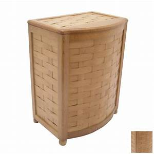 Shop Redmon Wood Clothes Hamper at Lowes com