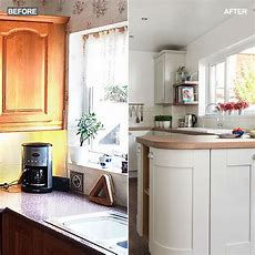 Before And After Light And Airy Coastalinspired Kitchen