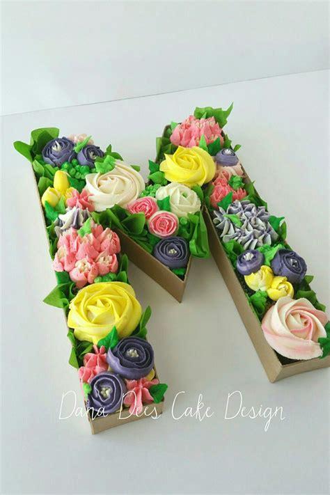 mothers day monogram cupcake bouquet box monogram cupcakes mothers day cupcakes cupcake