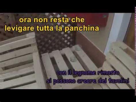 Costruire Una Panchina by Come Costruire Una Panchina Con Dei Bancali