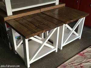 best 25 rustic end tables ideas on pinterest wood end With farmhouse coffee table and end tables