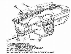 Dodge Caravan Dash Parts Diagram  U2022 Downloaddescargar Com