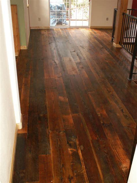 Reclaimed Antique Wide Plank HardWood Flooring