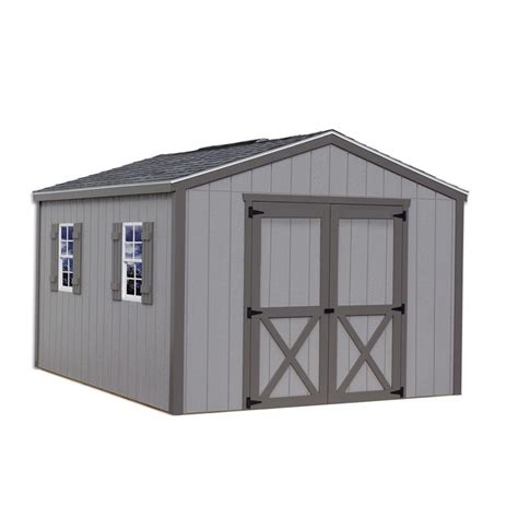 12 x 12 shed kit best barns elm 10 ft x 12 ft wood storage shed kit elm