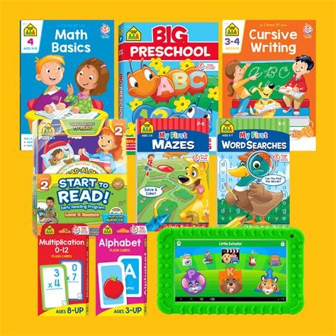 school zone the world s best workbooks flash cards 536   front page yellow 20180709 or8