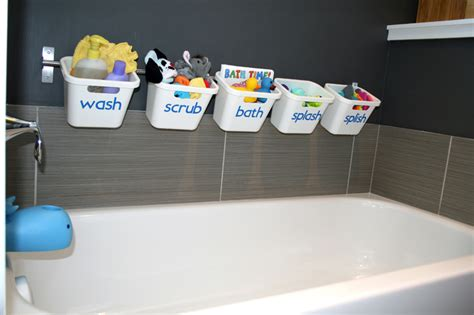 bath toy storage  transforms  guest luxury bathroom ikea hackers
