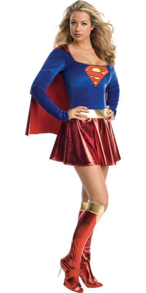 classic supergirl costume adult party city halloween