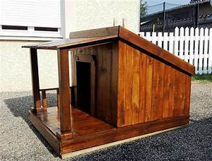 pallet dog house step by step plan diy crafts With wooden dog house plans