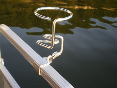 Pontoon Boat Rail Cup Holders pontoon boat cup holder holds your drink securely gifts