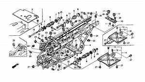 Honda Rancher 350 Parts Diagram Differential Fr