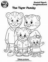 Tiger Coloring Pages Daniel sketch template
