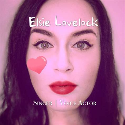 elsie lovelock singer and voice actress home facebook