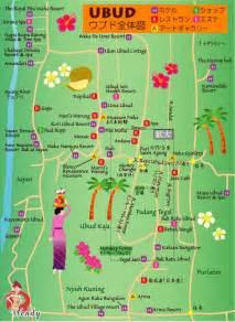 Ubud Bali Map