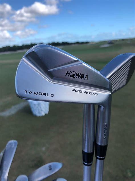 Justin Rose som väntat till Honma | Golf | Kittad