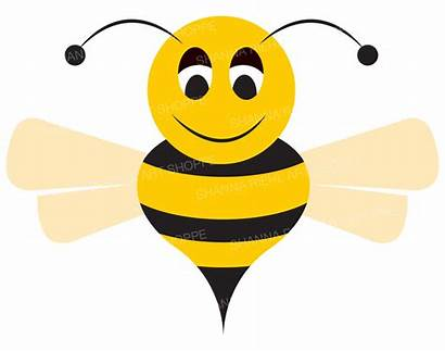 Bee Bumble Clipart Honey Clip Vector Bumblebee