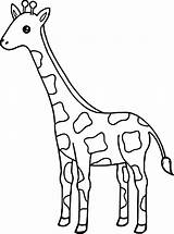 Giraffe Coloring Pages Tall Baby Drawing Printable Giraffes Animal Face Easy Cute Wecoloringpage Sheets Getdrawings sketch template
