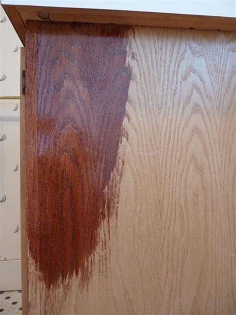 stained kitchen cabinets best 25 staining furniture darker ideas on 6456