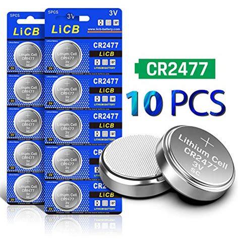 3v Cr2477 Button Cell Battery 5pcs Per Card Notxiro