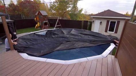 toile de piscine creusee toile soleil couverture hivernale pour piscine hors terre