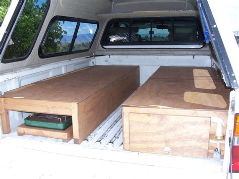 Luxury Truck Bed Camper Build Good Locking Mechanism Idea