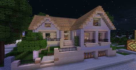 Comment Faire Une Belle Maison Moderne Sur Minecraft L