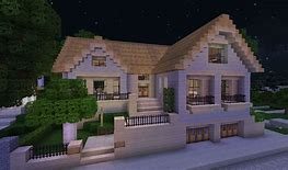 HD wallpapers tuto minecraft maison de luxe moderne construction top ...