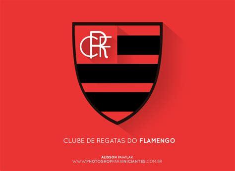 escudos de times brasileiros em flat design comunicart