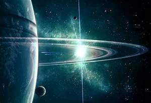 Planet rings stars space spaceship wallpaper | 2802x1920 ...