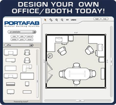 Portafab Modular Buildings  Interactive Room Planner