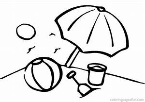Coloring Pages Beach - ClipArt Best