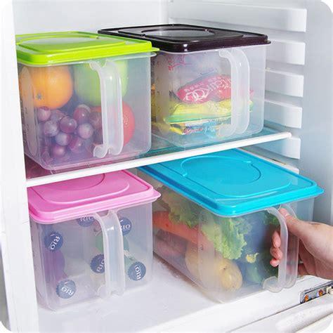 Kitchen Food Crisper Food Container Box Refrigerator