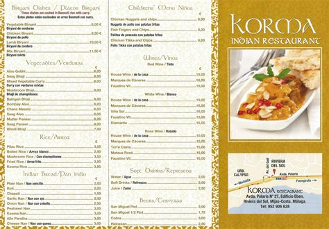 indian cuisine menu korma indian restaurant 93 6 global radio