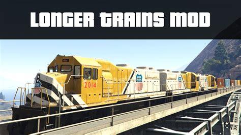 LONGER TRAINS MOD (Huge Train Crashes!) | GTA 5 PC Mods ...