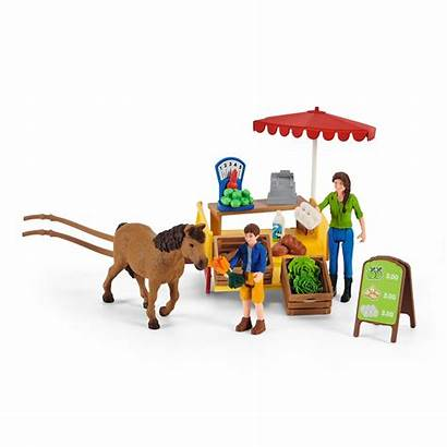 Schleich Farm Stand Mobiler Mobile Spielzeug Mytoys