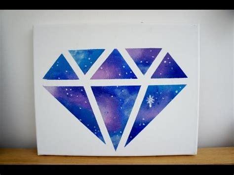 diy room decor galaxy diamond painting youtube