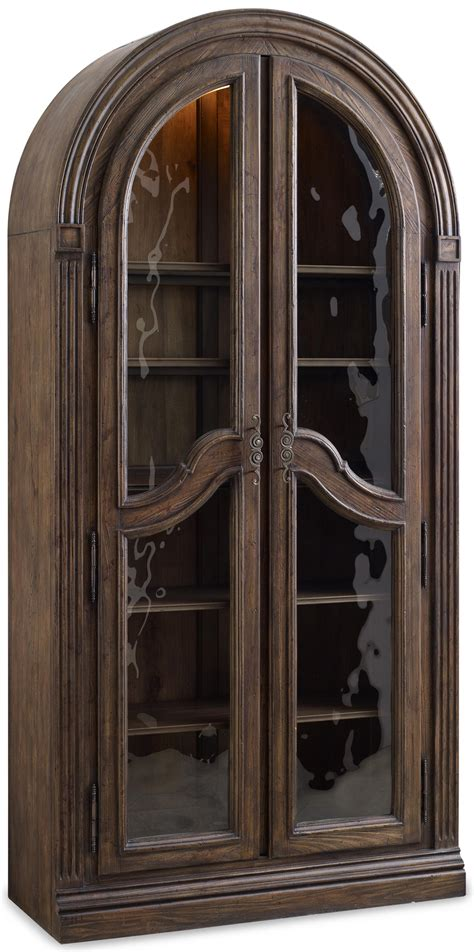 Hooker Furniture Rhapsody Bunching Curio Cabinet With