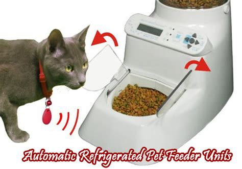Automatic Refrigerated Pet Feeder Units
