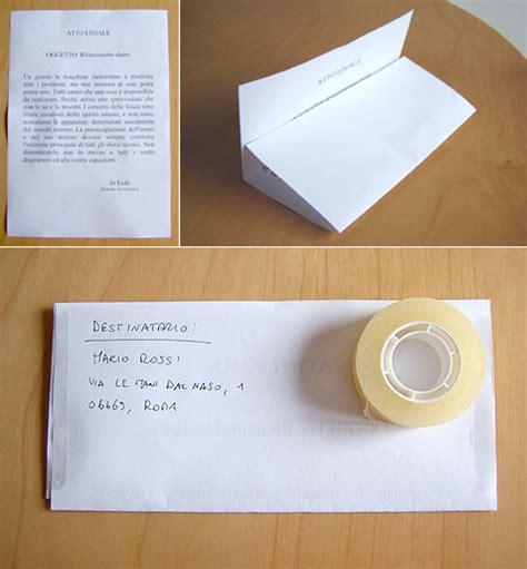 come compilare una busta da lettere spedire una raccomandata senza busta e senza sorprese