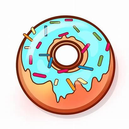 Donut Donat Donuts Clipart Clip Icon Baking