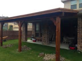 Patio Cover Attached to Roof