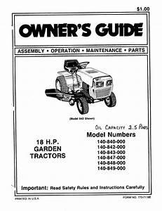 Mtd Lawn Mower 140