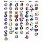 Icons Gym Symbols Leader Rune Team Blad3